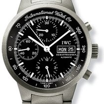 IWC GST Automatic Chronograph Titanium Mens Watch IW3707