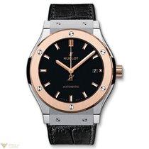 Hublot Classic Fusion Titanium 18k Rose Gold Men's Watch
