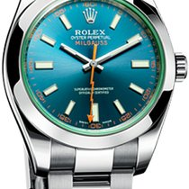 Rolex Milgauss 40mm Steel 116400GV Blue