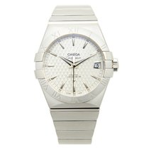 Omega Constellation Stainless Steel Silver Automatic 123.10.38...