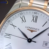 Longines Men's Master Collection Date 42mm Steel  and Rose...