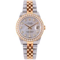 Rolex Pre-Owned Diamond DateJust Mid-Size 78273 2001 Model