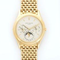 Patek Philippe Yellow Gold Perpetual Calendar Rice Bracelet...