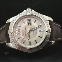 Breitling Cockpit Chronometer Steel Silver Dial 41 mm (2007)