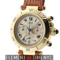 Cartier Pasha Collection Pasha Chronograph 18k Yellow Gold...