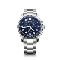 Victorinox Swiss Army Chrono Classic, blue dial, steel,...