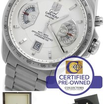 TAG Heuer Grand Carrera Calibre 17 White Automatic CAV511B Watch