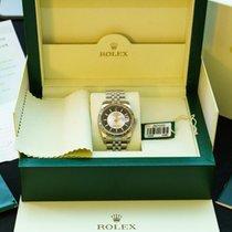 Rolex Datejust 36mm Bullseye Tuxedo dial