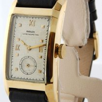 Rolex Chronometer 18K Yellow Gold Vintage Manual Watch 3059
