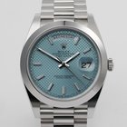 Rolex Day-Date Platinum - 40mm Ice Blue Dial