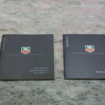 TAG Heuer vintage kit booklets and papers caliber 17