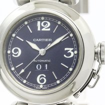 Cartier Polished Cartier Pasha C Big Date Steel Automatic...