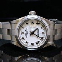 Rolex 2002 26mm Date, Steel, MINT, White Roman, 79160