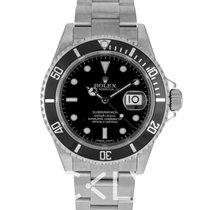 勞力士 (Rolex) Submariner Date Black/Steel 40mm - 16610