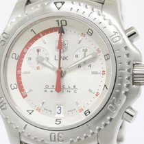 TAG Heuer Polished Tag Heuer Link Oracle Racing Ltd Edition...
