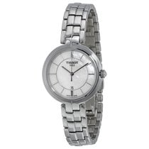 Tissot Flamingo Mother of Pearl Dial Stainless Steel Ladies...