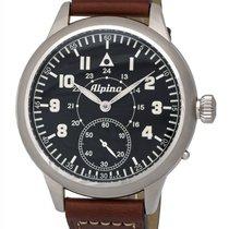 Alpina Heritage MK II Pilot Mechanical Men's Watch – AL-435LB4SH6
