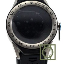 TAG Heuer Connected Modular 45 Black Rubber Steel Bezel NEW MODEL