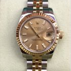 Rolex Datejust Steel and Gold  Fluted Bezel