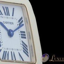 Cartier Santos Lady Demoiselle 18kt Gelbgold 28 x 20mm
