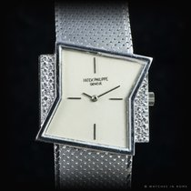 "Patek Philippe 3497 Asymetrical white gold "" Gilbert Albert"""