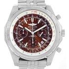 Breitling Bentley Motors T Bronze Dial Steel Watch A25363 Year...