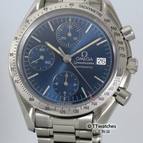 Omega Speedmaster Date Automatic 3511.80 Rare Blue Dial