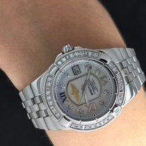Breitling  GALACTIC 30  ACIER  WITH  FACTORY  DIAMOND