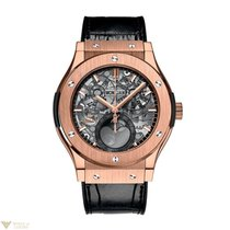 Hublot Classic Fusion Moonphase Automatic 18K King Gold...