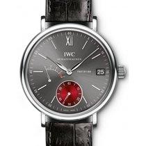 IWC Schaffhausen IW510111 Portofino Hand-Wound Eight Days...