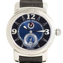 Ulysse Nardin Macho Palladium 950 — Blue/Black Dial on Strap