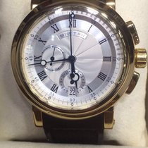 Breguet marine chronograph yellow gold