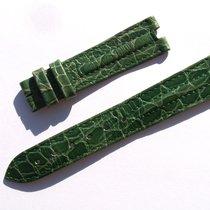 Zenith Croco Band Armband Grün Green 17 Mm Für Dornschliesse...