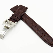 IWC New 22/18mm IWC Calfskin Leather Strap Big Pilot Bracelet