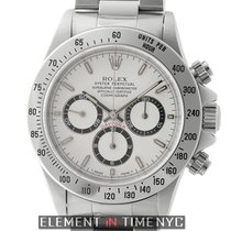 Rolex Daytona Stainless Steel Zenith Movement White Dial W...