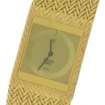 Concord 18K Yellow Gold 25mm Woven Quartz 50.77.615 Watch