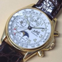 DuBois et fils Perpetuelle Moonphase 18k Yellow Gold Gents 18k...