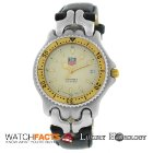 TAG Heuer Authentic Men's SEL S87.006 E Date 38MM 18K Gold...