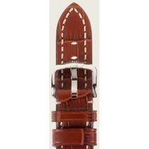Hirsch Uhrenarmband Knight goldbraun L 10902870-2-24 24mm