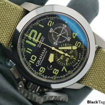 Graham Chronofighter Oversize Black Ceramic Military 2CCAU.G01A