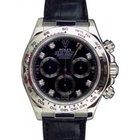 Rolex Cosmograph Daytona 116519 116519-BLK-D Black Diamond...