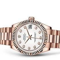 Rolex Datejust Rose Gold 18kt Diamond