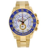 Rolex YACHT-MASTER II 44mm 18K Yellow Gold Watch Box/Papers