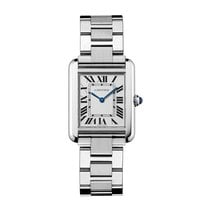 Cartier Tank Solo Quartz Mens Watch Ref W5200013