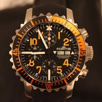 Fortis Aquatis Marinemaster Chronograph Orange 671.19.49 LP