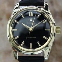 Omega Seamaster Rare Automatic 1960s Men 34mm 14k Solid Gold...
