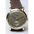 Stowa Herrengoldarmbanduhr mit dem Charme der 30er Jahre