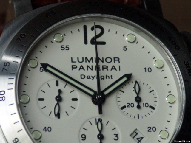 Panerai PAM 251 Luminor Daylight Chronograph Cream Dial 44 mm: Retail