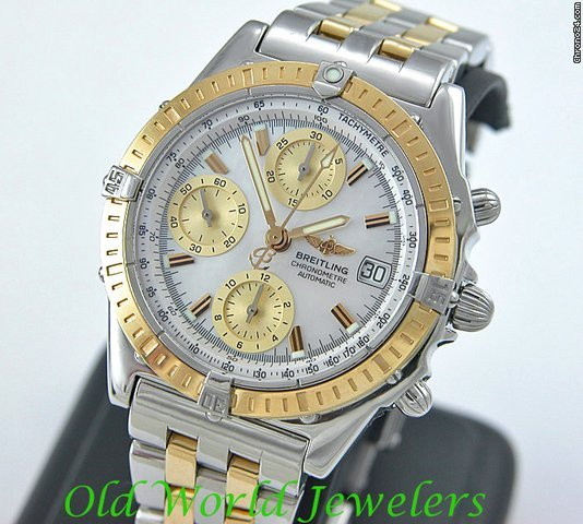 Breitling TUTONE MOP CHRONOMAT AUTOMATIC