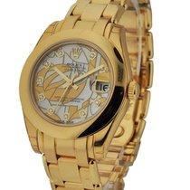 Rolex Unworn DateJust Special Edition Yellow Gold Masterpiece